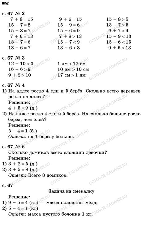 Гдз по математике 2 класс, м. И. Моро, с. И. Волкова, рабочая.