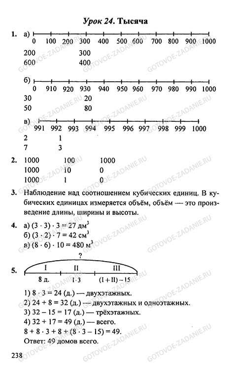 Готовый Домашние Задания По Математике 2 Класс